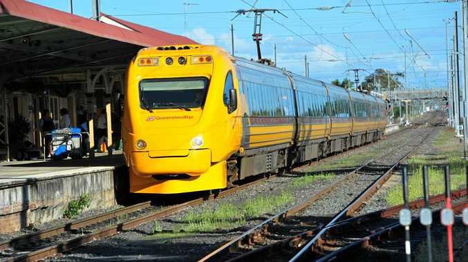 TILT TRAIN: Tilt train. Photo: Max Fleet / NewsMail