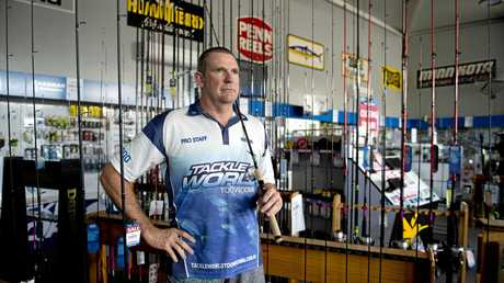 NEW BEGININGS: Tackle World Toowoomba owner Wayne Gordon has no regrets on where the business has taken him in the past six years. The store will close next month.