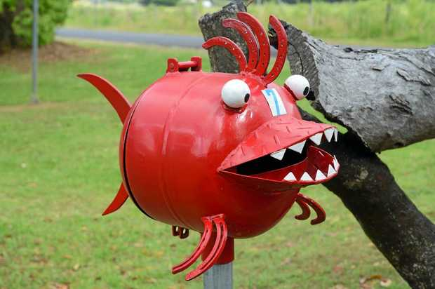 This little fella isn't the only one that wants to eat your mail and, unlike the letterbox fish, the bandits that want it won't give it back.