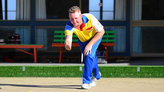 CHAMP: Mark Williams won the championship singles title at Coolum.