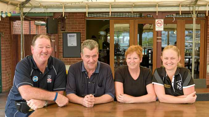 CHANGES: Mark Kirland, Jack McIntyre, Monique Barrowcliff and Zoe Jamieson - the new team at the Top Pub in Maclean.
