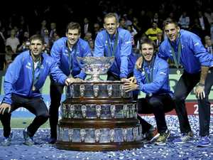 Argentina breaks drought in Davis Cup