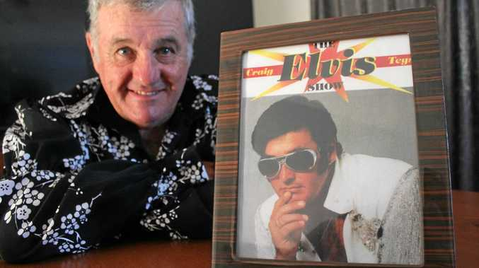 FOR THE LAST TIME: Elvis impersonator, Craig Teys, will perform for the last time at the Slipway Hotel on December 3.