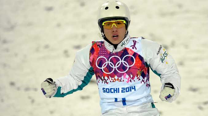 Australia's Lydia Lassila at  the 2014 Winter Games  in Sochi, Russia