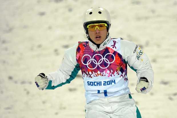 Australia's Lydia Lassila at  the 2014 Winter Games  in Sochi, Russia