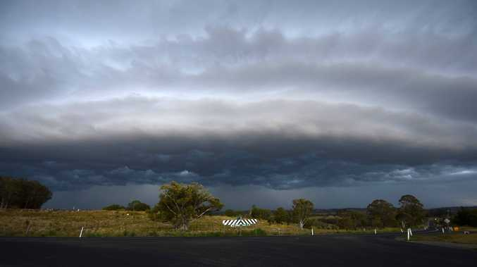 A severe storm warning has been issued for Lismore.