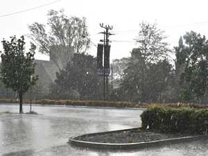 Hail hits Warwick as heavens open