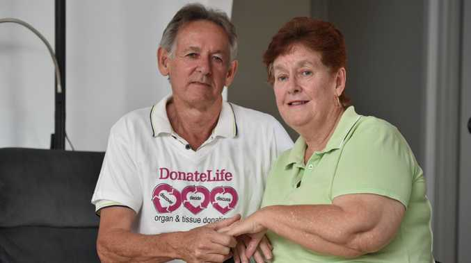 DonateLife - Organ & Tissue Donation - heart transplant recipient Christine Brown with her husband Allan.