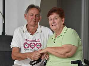 How the gift of a heart saved a Hervey Bay woman