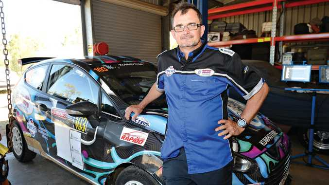 GREAT EXPERIENCE: Rockhampton's rally car driver Clay Weston has ticked another entry off his racing bucket list.