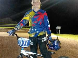 Local rider off to race in America