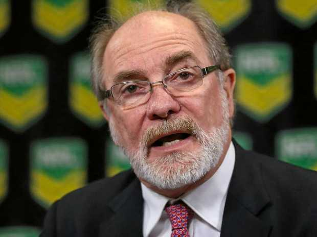 ARL Commission chairman John Grant.
