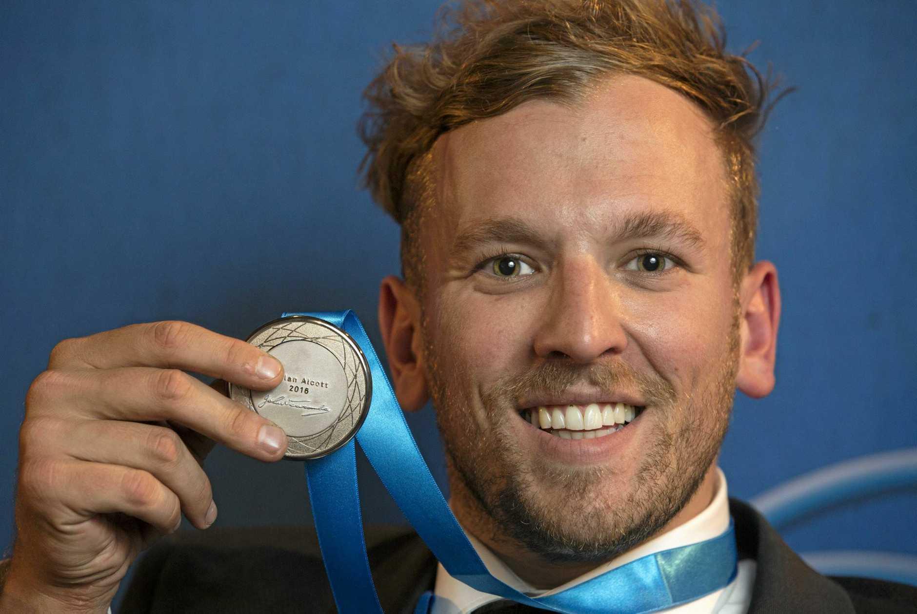 Newcombe Medal winner Dylan Alcott.