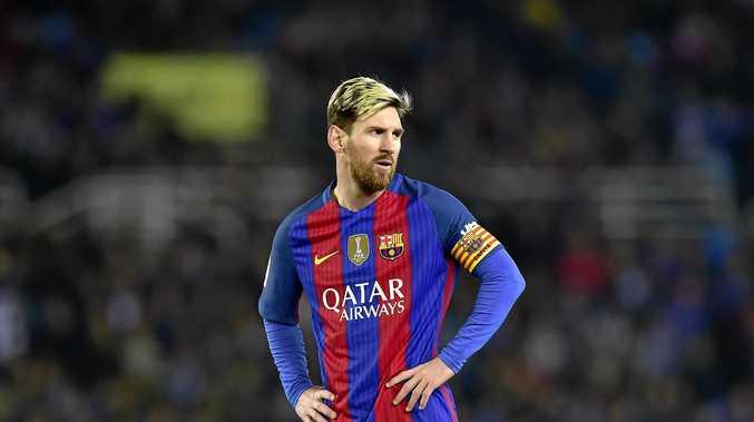FC Barcelona's Argentine superstar Lionel Messi.