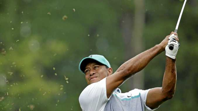 Tiger Woods at the Wyndham Championship last year.