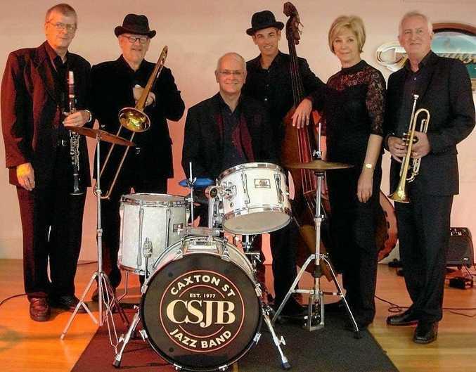 The Caxton Street Jazz Band.