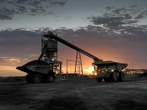 PRICE LIFT: An increase in coal prices has brought relied for New Hope coal mine workers at Acland.