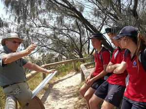 St Andrew's students learn conservation skills