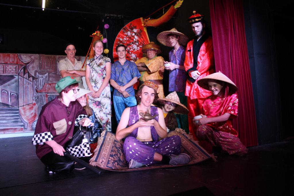 Criterion Theatre's Aladdin cast.