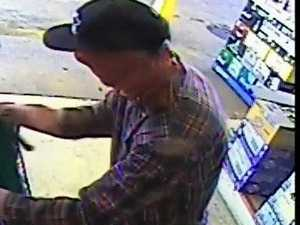 Ipswich detectives investigating the armed robbery of a liquor outlet located on Commercial Drive, Springfield have released an image of a man who may be able to assist with their investigations.
