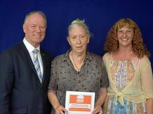 Charity 'mum' recognised with Premier's Award
