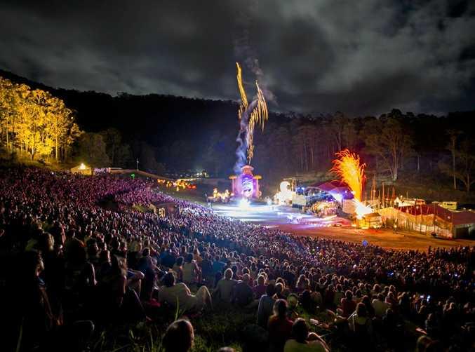 Woodford Folk Festival starts on December 27.