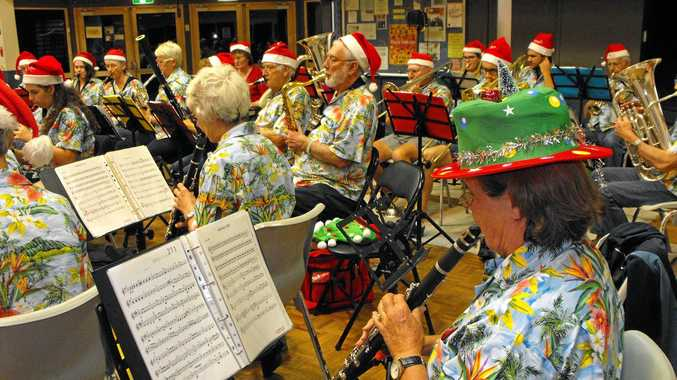 The Christmas Crackers Concert.