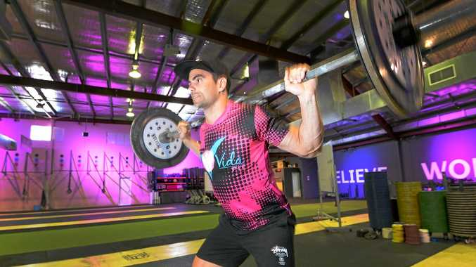POWER PLAY: Dan Withers was a member of the VidaFit Rockhampton team which finished sixth at the national crossfit titles.