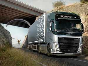 Volvo Trucks brings us 'The Flying Passenger' stunt