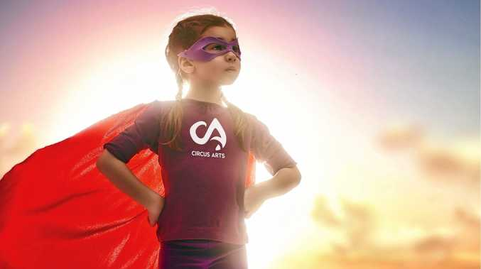 CIRCUS ARTS: Superheroes and Supervillains will battle at out at Circus Arts end of year show.