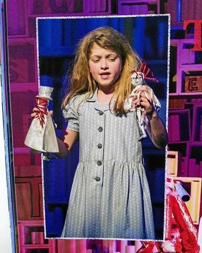 Eva Murawski in Matilda The Musical.