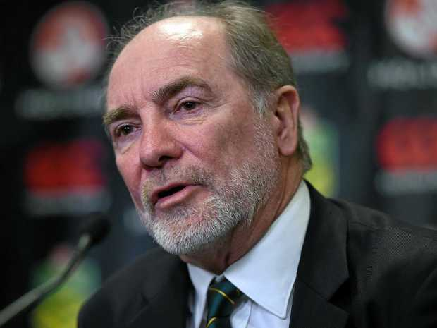 Australian Rugby League Commission chairman John Grant.