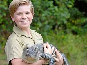 Crikey! Robert Irwin turns 13
