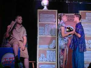Familiar voice attracts chorus of boos in stage debut