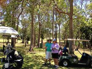 Sarina golfers hit out for Christmas hams