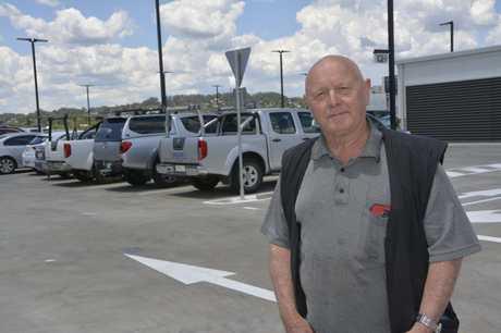 Toowoomba man George Elson said new car parks were a Godsend.