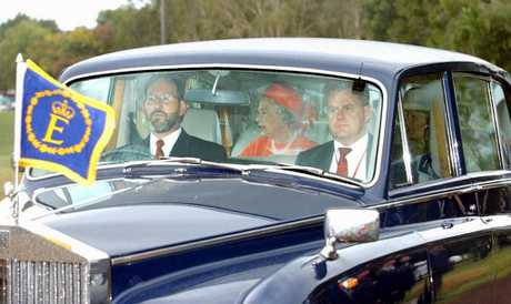 Queen arrives at CHOGM