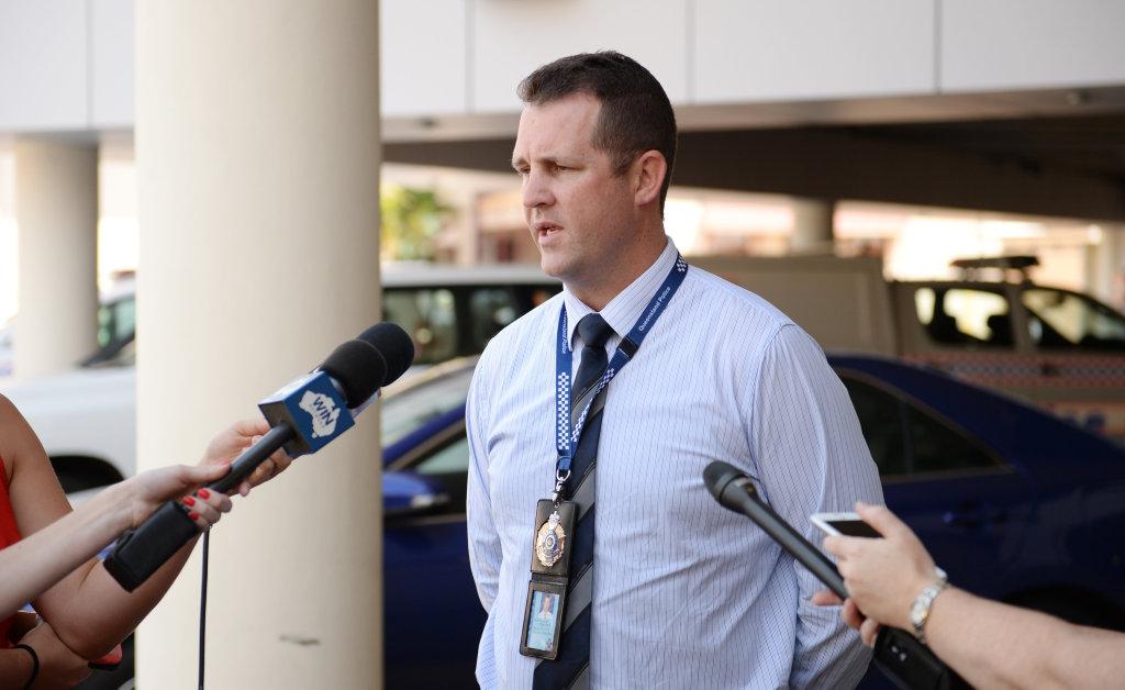 Detective Senior Sergeant Luke Peachey.