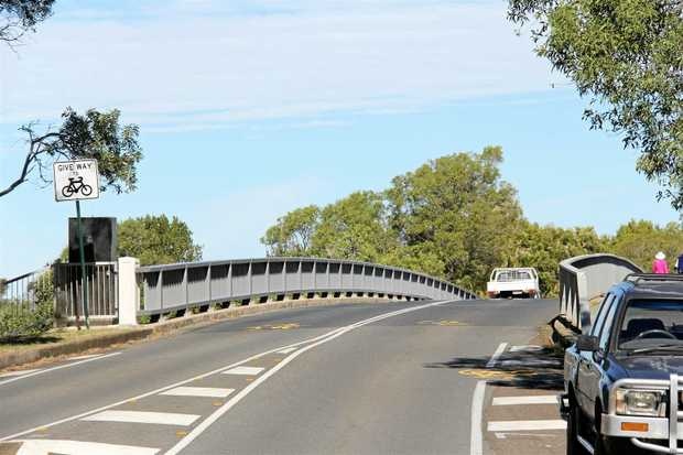 The Munna Point Bridge has been saved from falling down and is now going to get an new footpath.