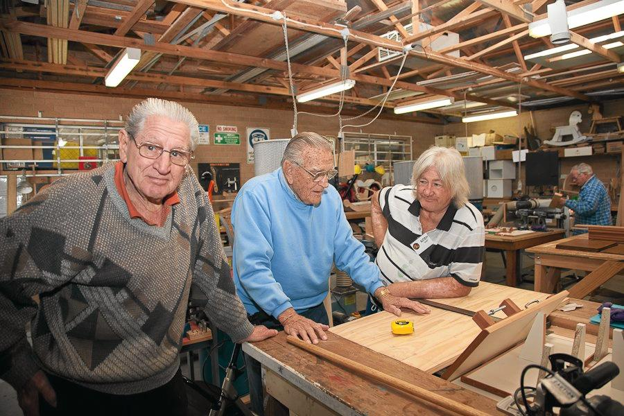 Men's Sheds are an important part of Central Coast Council's Positive Ageing Strategy.
