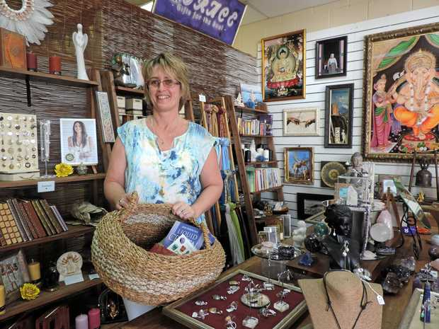 FRESH SHOP: Emma Gunns has opened GRACE Gifts for the Soul in Nambour.