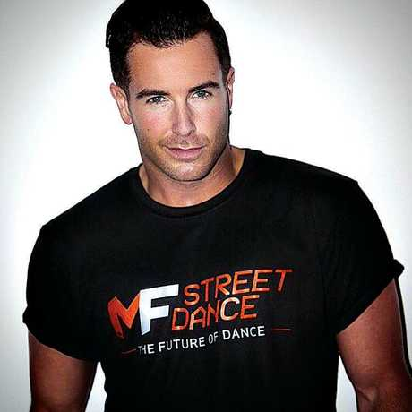 Aaron Renfree is an ambassador for MF Dance.