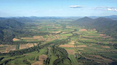 Its magical sitting in a helicopter above Eungella, with the Pioneer Valley lurching away down below.
