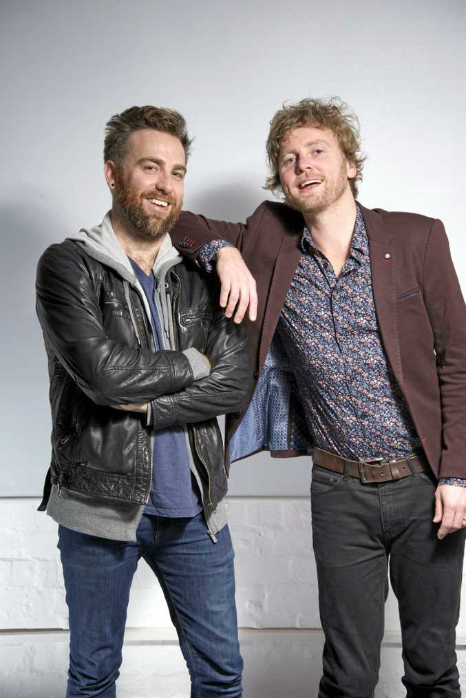 Josh Pyke and Bob Evans are touring together and playing Solbar, Maroochydore, on Saturday, December 3.
