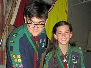 Hard work pays off for two Gympie Scouts
