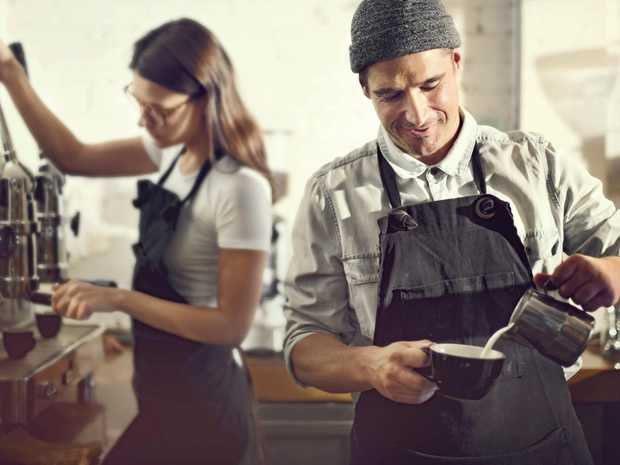 HARD AT WORK: Hospitality workers may lose penalty rates.