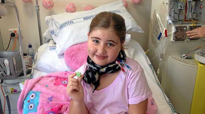 HELP MADDIE: A fundraiser is being held to help for Maddie Collins, 12, to go to the US for a desperately needed kidney transplant.