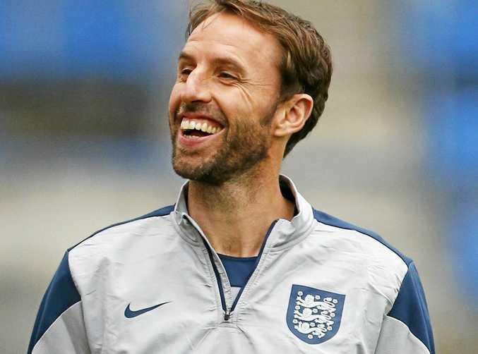 New England coach Gareth Southgate.