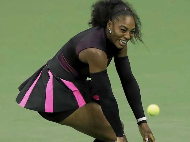 Serena Williams at the US Open.