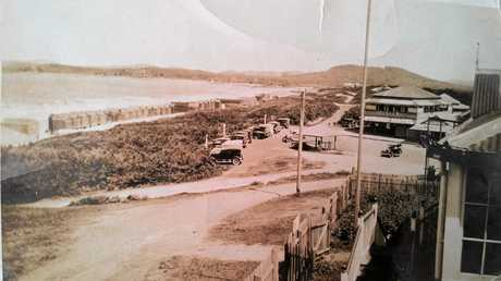 LOST HISTORY: Main Beach Yeppoon, in the 1920s, with a long row of beach huts.